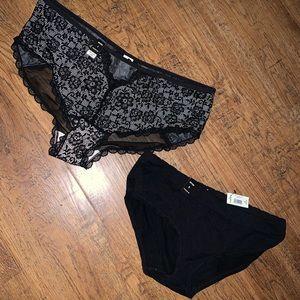 Torrid 0 new panties hip huggers discontinued styl